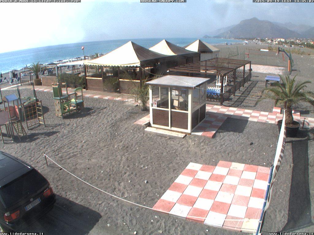 Itálie - Praia a Mare pláž